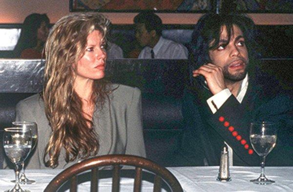 Kim Basinger and Prince