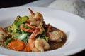 Garlic Pepper Stir Fry with Shrimp
