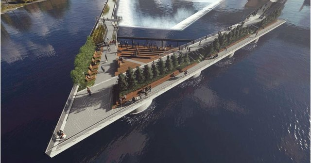 Proposed Mississippi River Promenade