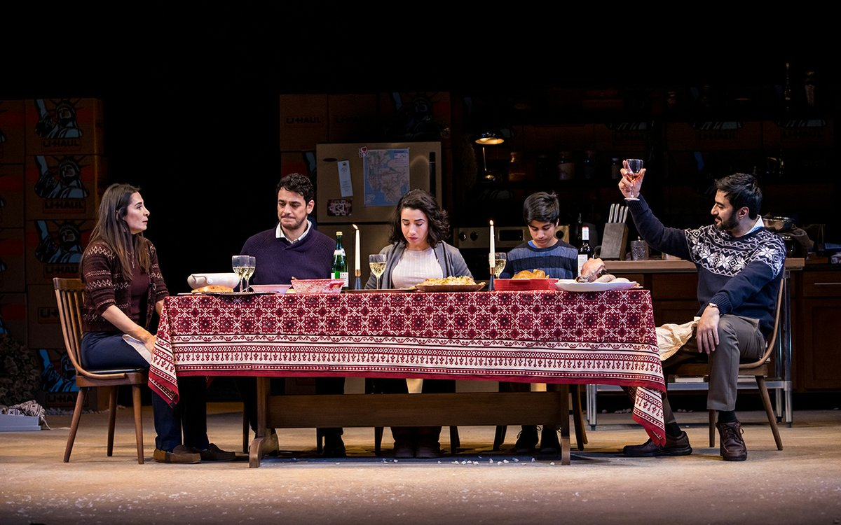 Noura at the Guthrie Explores an Iraqi Immigrant's Identity
