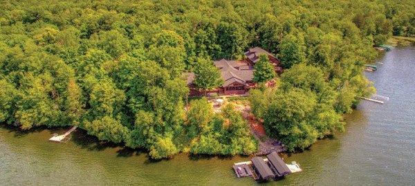 Red Cedar Home on Lake