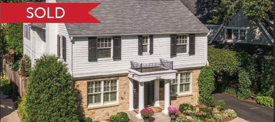 Two-story home in Edina, sold