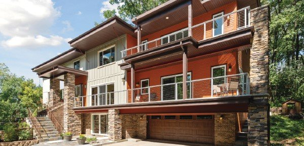 Modern North Oaks home