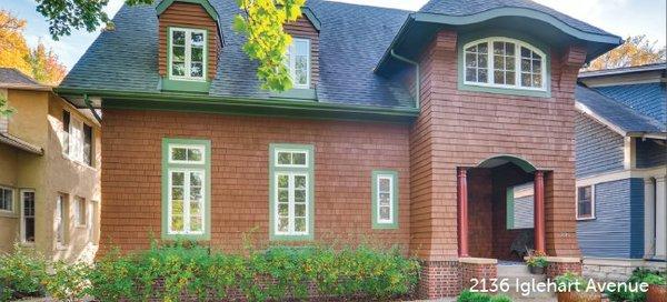 Brick home on Iglehart Ave