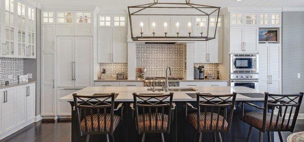 White well-lit kitchen