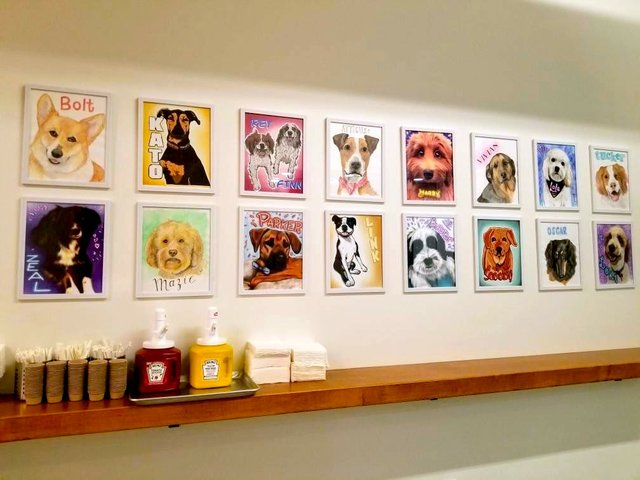 paintings of dogs
