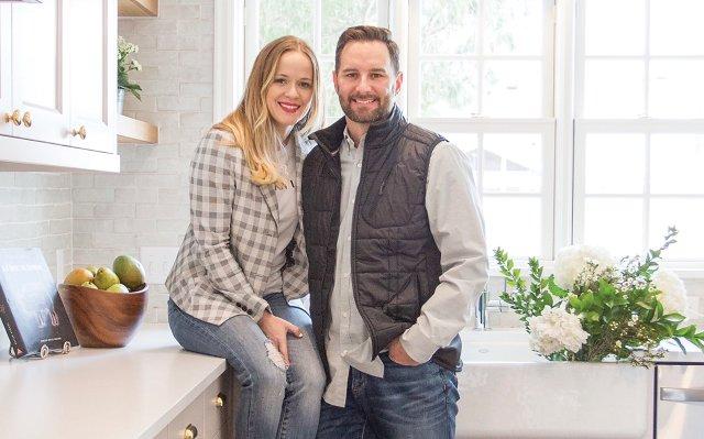 Designer Katie and Builder Jesse Kath