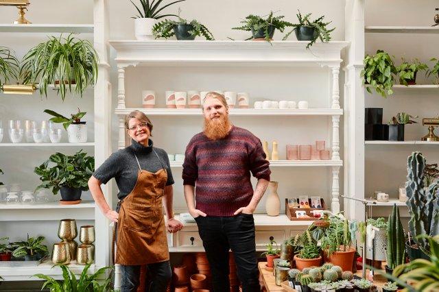 Nicole Pedersen and David Miller, co-owners of Ergo