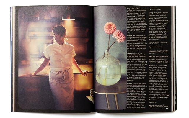 Meal Magazine spread