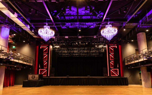 Stage at The Fillmore