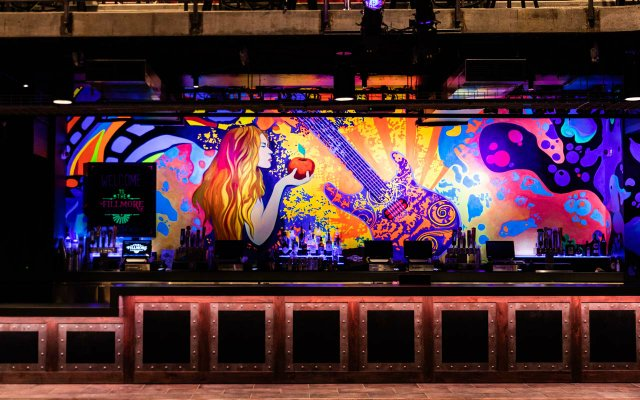 Bar area at The Fillmore