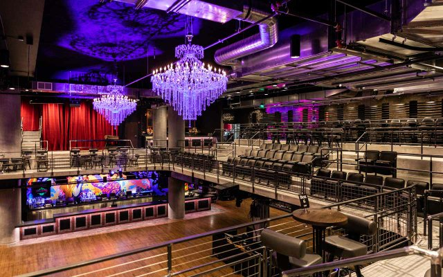 View from the second floor at The Fillmore
