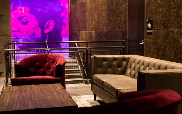 Lounge seating at The Fillmore