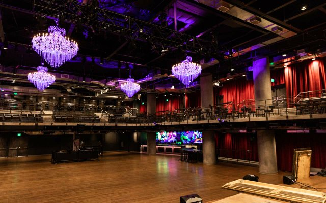 Interior space at The Fillmore