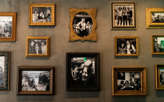 Wall of photographs at The Fillmore Minneapolis