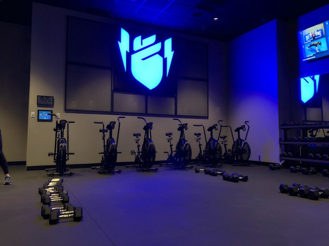 Basecamp Fitness room