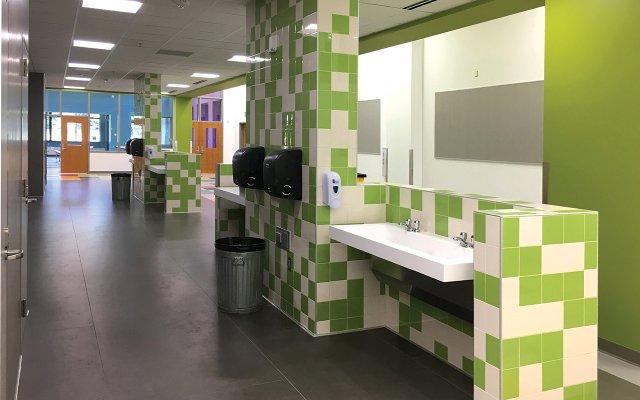 Horace Mann Elementary's Restroom