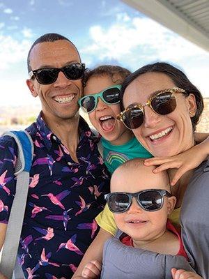 Kawai Strong Washburn's Family
