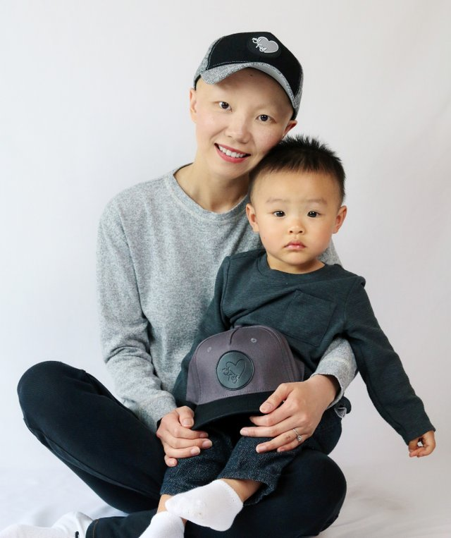 My Heart Tug founder Ali Yang and son Paxton