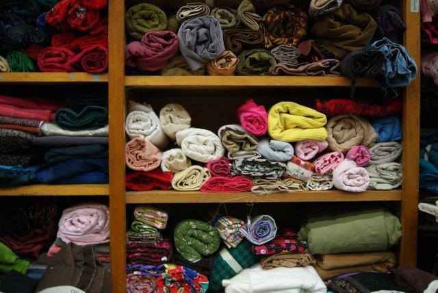Textile Center Garage Sale fabric