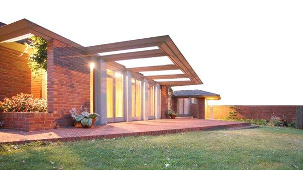 Frank Lloyd Wright house