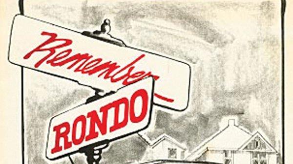 Rondo street sign