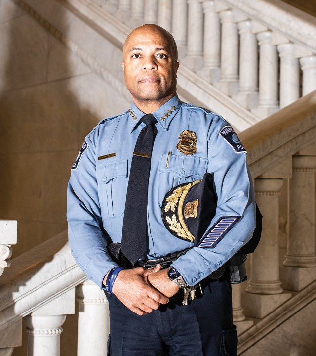 Minneapolis Chief of Police Medaria Arradondo