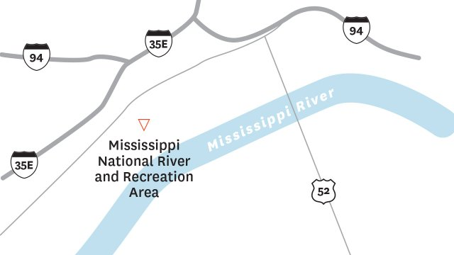 Mississippi National map