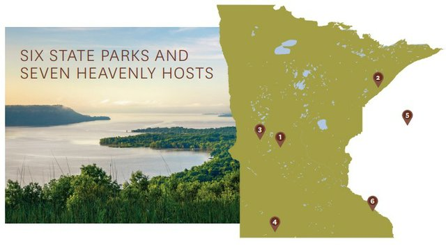Map of State Parks