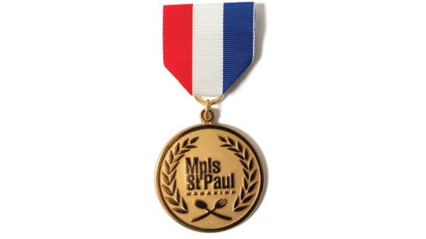 Best of Twin Cities medal