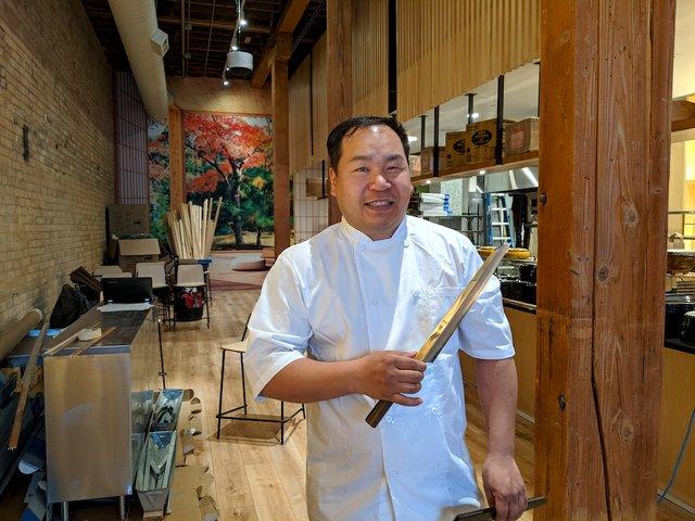 Billy Sushi chef
