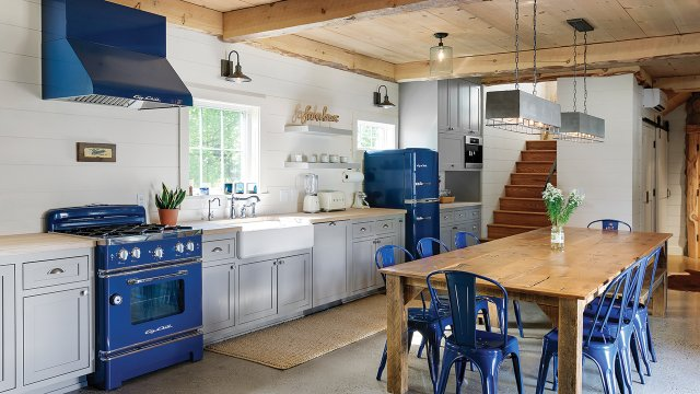 The kitchen at the barn
