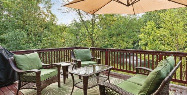Private home patio