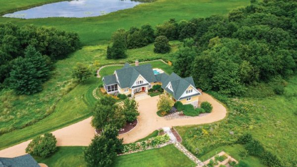 Home on 43 acres