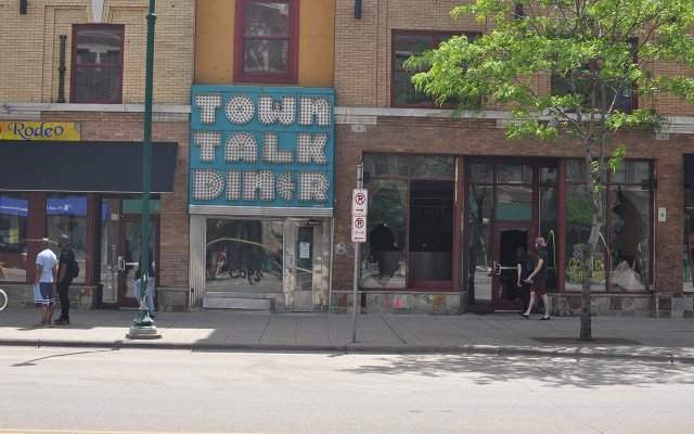 Town Talk Diner After Protests