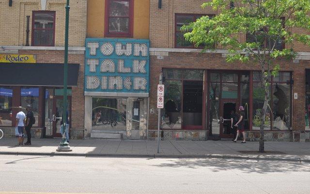 Town Talk Diner After Protests