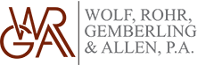 Wolf, Rohr, Gemberling and Allen Logo