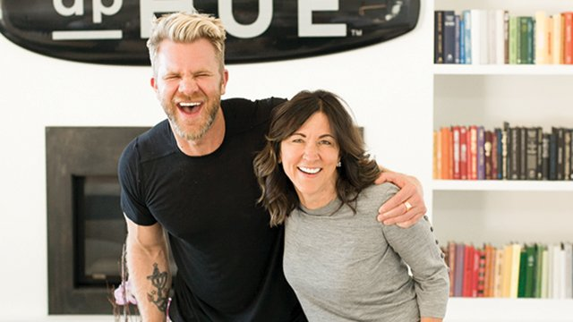 Donna Pohlad and Justin Anderson