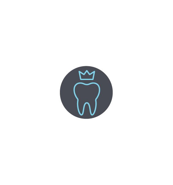 Tooth Icon Crown