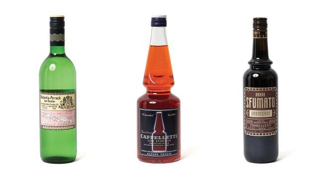 Rare sprits for craft cocktails