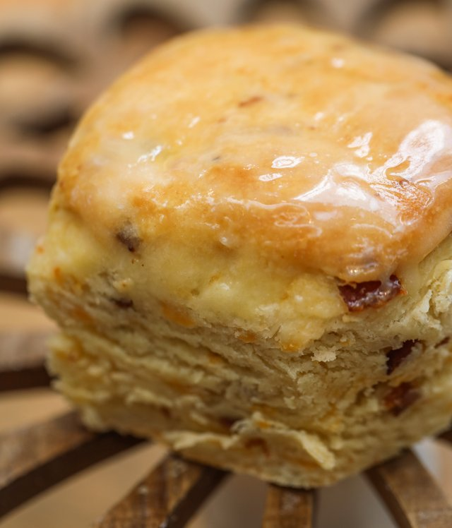 Bacon Cheddar Biscuit