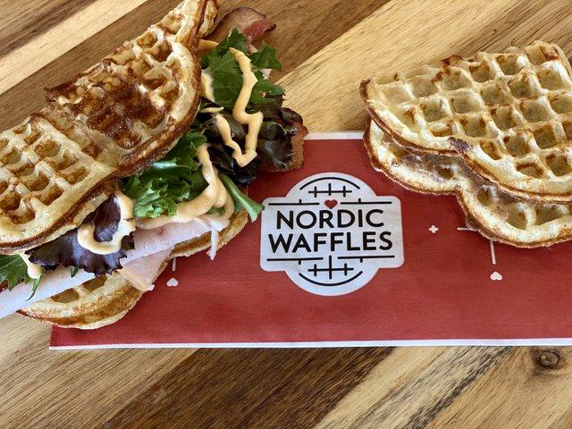 Waffles at Nordic Waffles