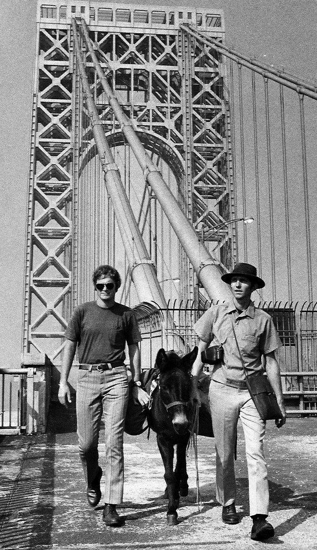 Kunst Brothers on the George Washington Bridge