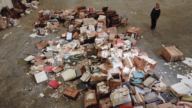 pile of public records