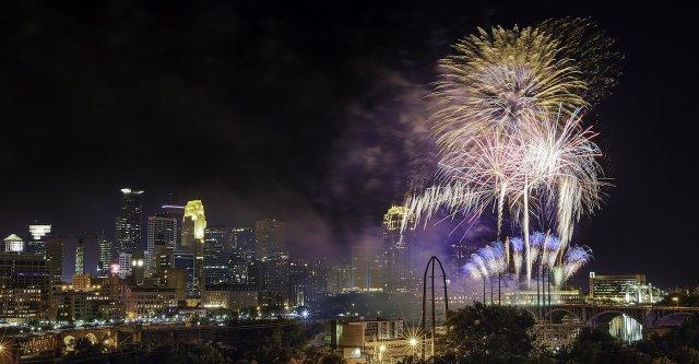 Aquatennial Fireworks