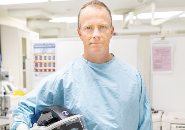 HCMC's Dr Rob Reardon