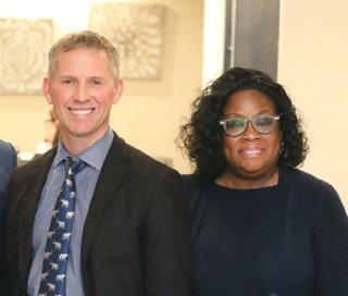 Dr. John Moore and Dr. Cherie Zachary