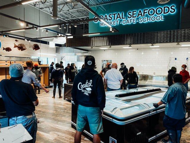 coastal seafoods new space