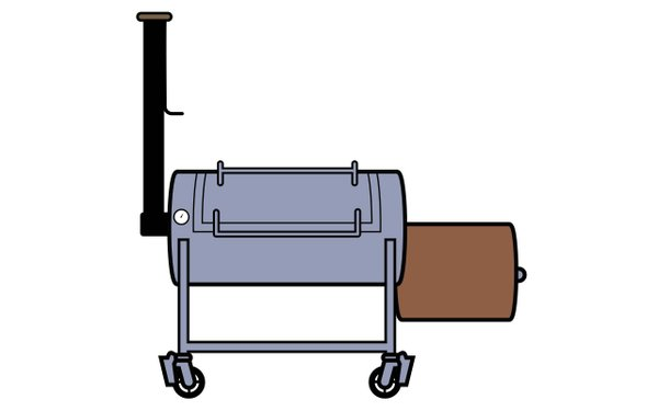 Mill Scale Metalworks Smoker