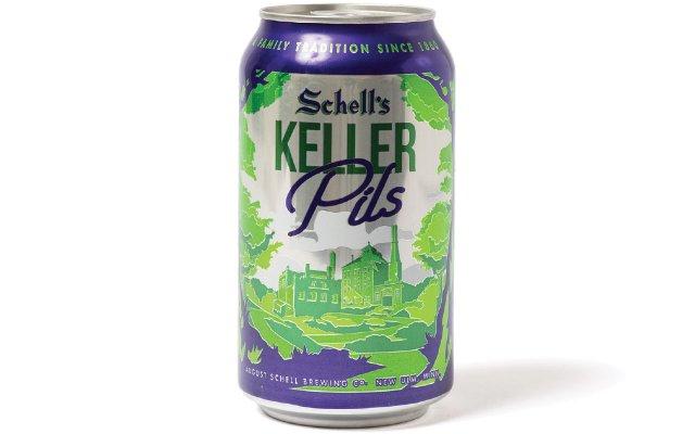 can of Schell's Keller beer